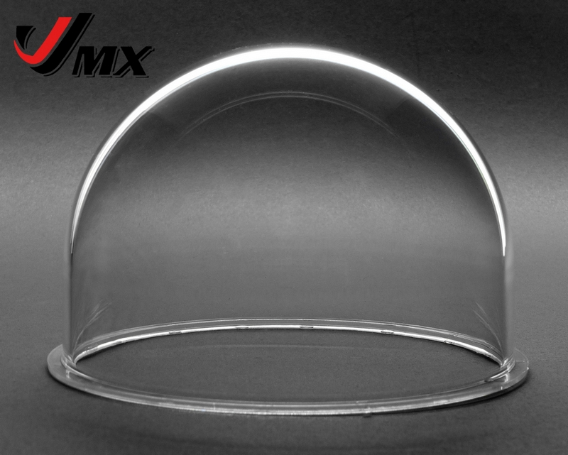JMX 3.5 INCH Akryl indendørs / udendørs CCTV udskiftning Clear Camera Dome Security Dome Camera Housing