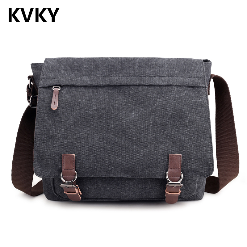 2018 Men Bag Fashion Canvas Messenger Bags High Quality Shoulder Bags Solid Male Crossbody Bags Man Casual Tote Travel Bolsas 2017 new hot men shoulder bag fashion nylon crossbody bag chest bags high quality man travel messenger bags