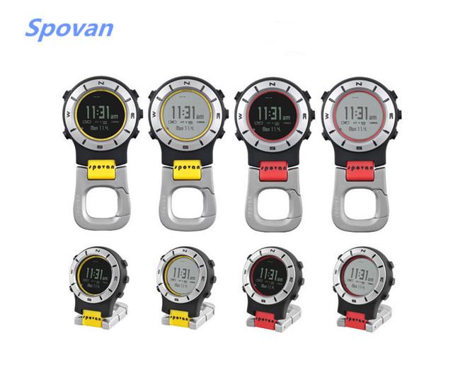 Hot Spovan 3ATM Waterproof Elementum II Multifunction Outdoor Sports Handheld Watch Barometer Altimeter Thermometer Compass 2