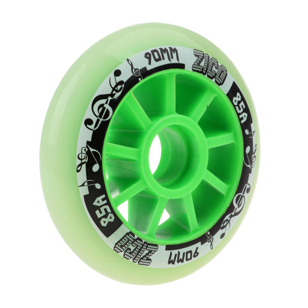 4 Pcs Outdoor Inline Roller Skates Skating Replacement PU Wheel Accessories