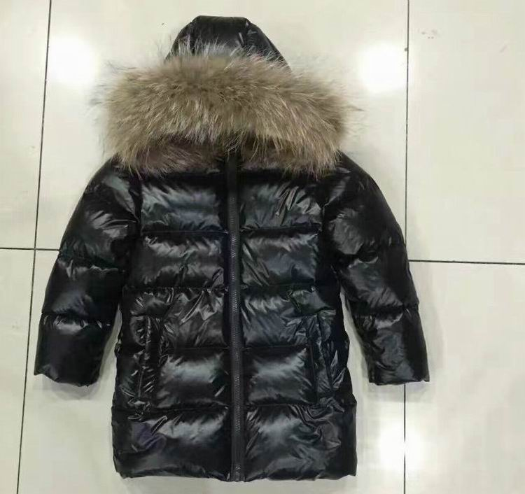 Super Warm Waterproof and wind Boy/Girl 90% duck white down coat/Clothing with hooded Black/Red/Blue Color coat with fur collar