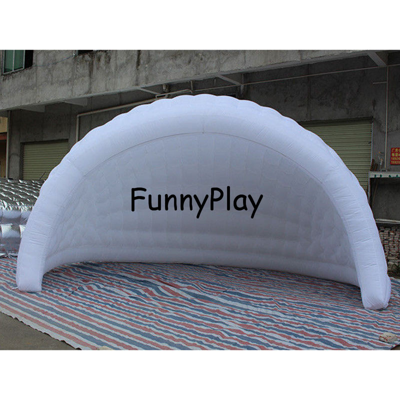 Half Moon Inflatable Igloo Stage Tent Air Dome Luna Tentsgiant inflatable tents for exhibitioninflatable meeting tent-in Tents from Sports u0026 Entertainment ...  sc 1 st  AliExpress.com & Half Moon Inflatable Igloo Stage Tent Air Dome Luna Tentsgiant ...
