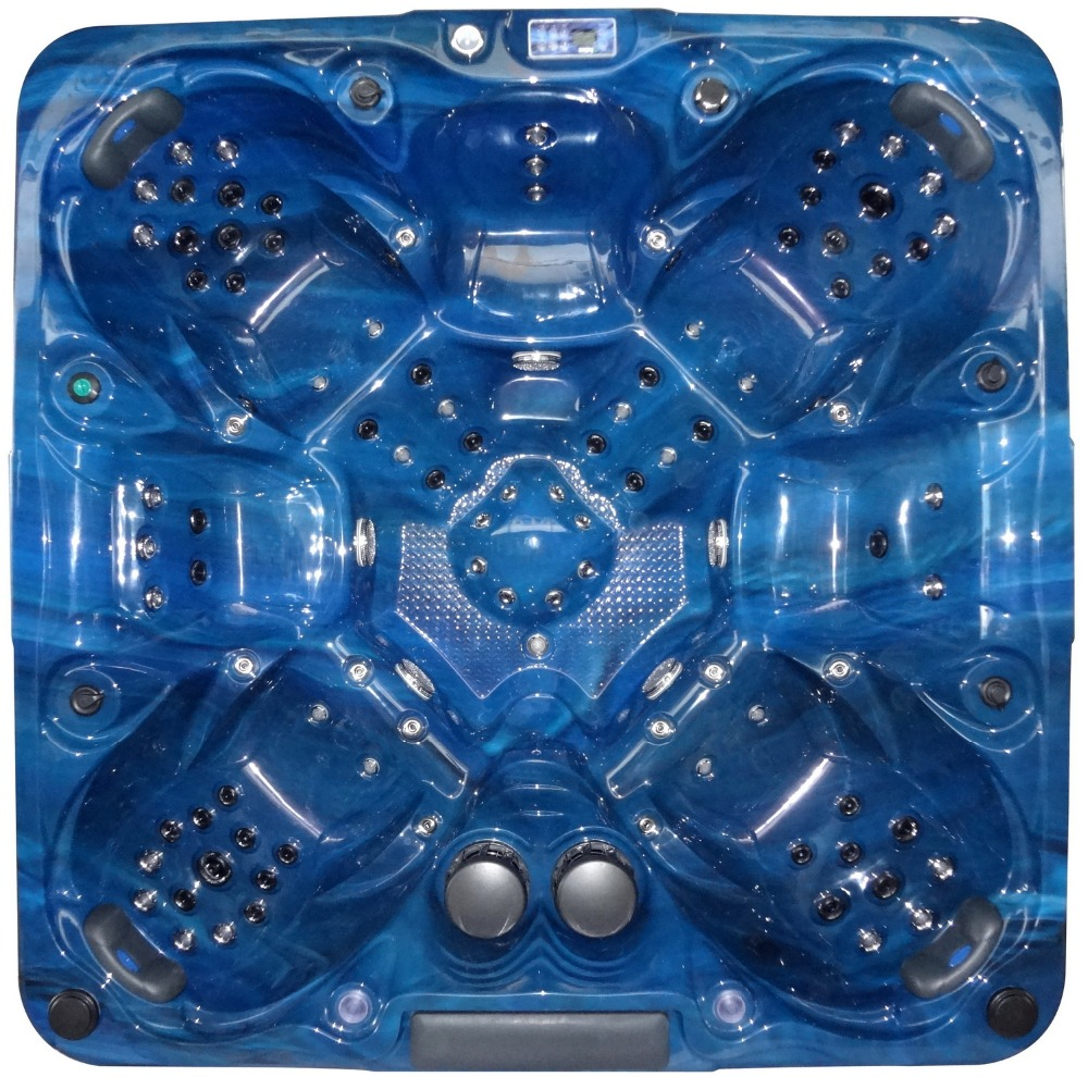2806 Backyard whirlpool / portable hot tubs spas with 7 seats for ...