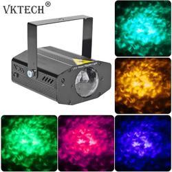 Mini RGB LED Riak Air Lampu Panggung Laser KTV DJ Disko Lampu Panggung Lighting Efek Natal Pesta Dekorasi