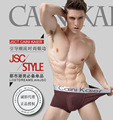 11 Colors Sexy Men underwear Boxer Male underwear High Quality White Modal Shorts Men's silver belt boxer underwear
