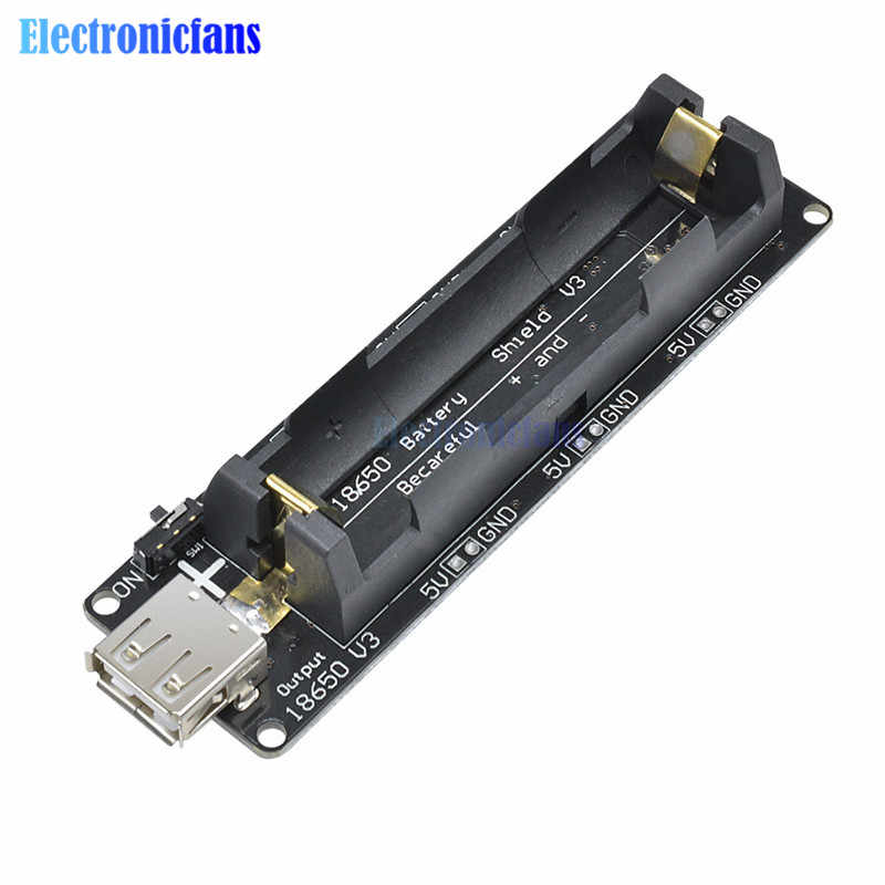 ESP32 ESP32S 18650 carte de protection de Charge de batterie V3 Micro Port USB type-a USB 0.5A pour Raspberry Pi pour Arduino chargeur pour Wemos