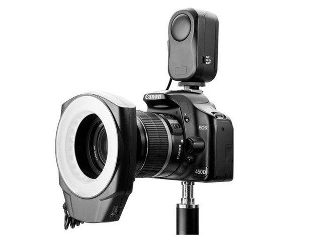 Macro LED Ring Flash Light For Canon Nikon Olympus Sony Olympus Ring48  Free shipping