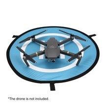 55 см 75 см 110 см быстро складывающаяся посадочная площадка универсальная FPV Дрон парковочный фартук для DJI Spark Mavic Pro Drone Phantom 4 аксессуары