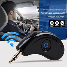 Car music player, Bluetooth 4.0 Receiver AUX car audio receiver with wireless hands-free calls