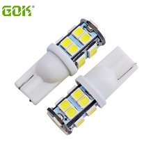 100pcs T10 20smd 194 168 192 w5w led 2835 smd t10 20led Auto Led Car Lighting LEDCar wedge parking dome light