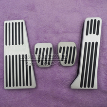 DEE Car Accessories Accelerator Gas Fuel Brake Footrest Foot Rest Pedal Pads Stickers For Mazda CX-5 Non-Drilling pedals pad