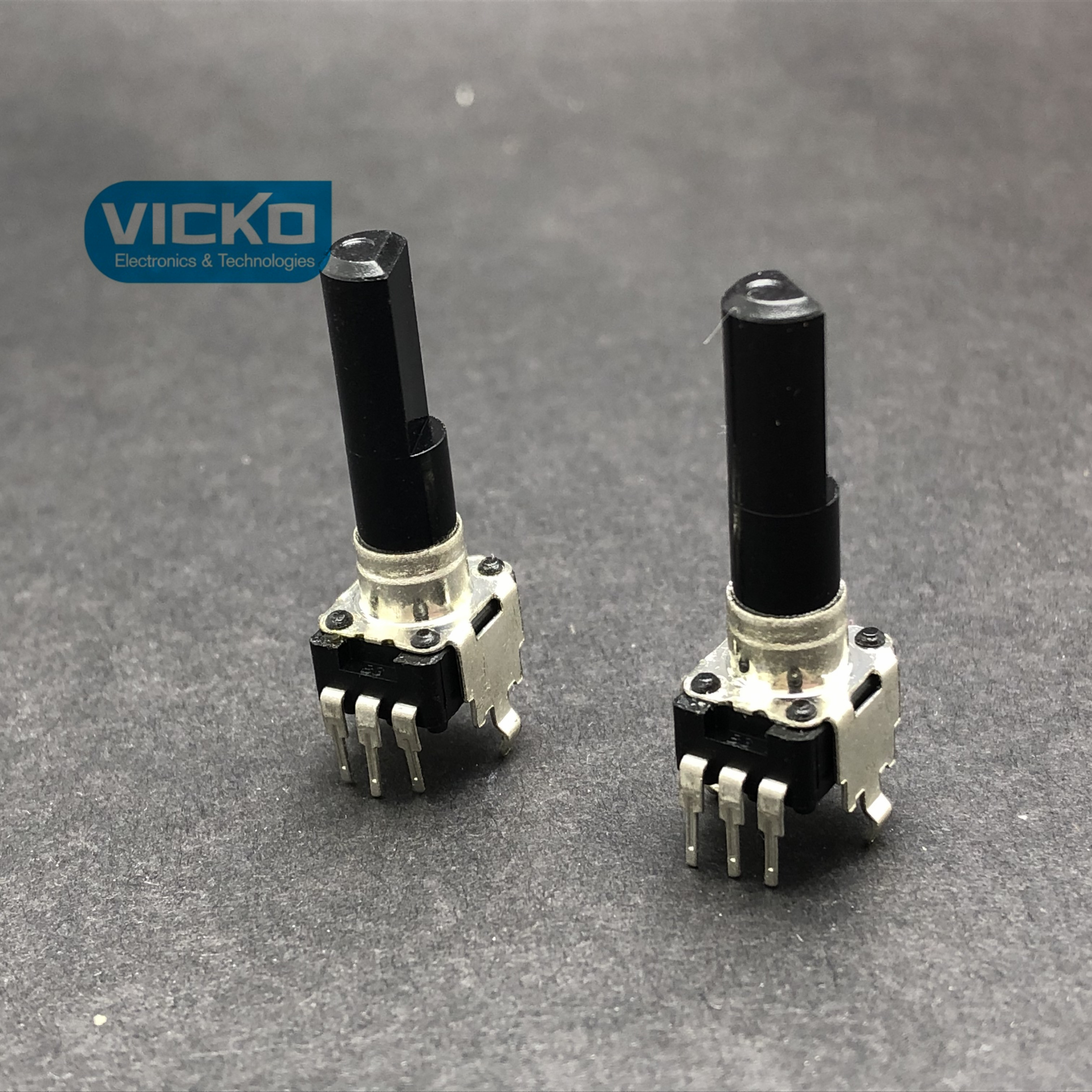vk RK09 B5K 5K Taiwan Fuhua Mixer Potentiometer Single With Midpoint shaft 23MM Switch B502
