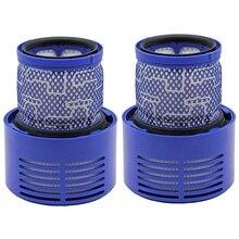 2 штуки в упаковке замена фильтр для Dyson V10, Sv12 Циклон животных абсолютно чистым пылесос, запасная часть нет. 969082-01