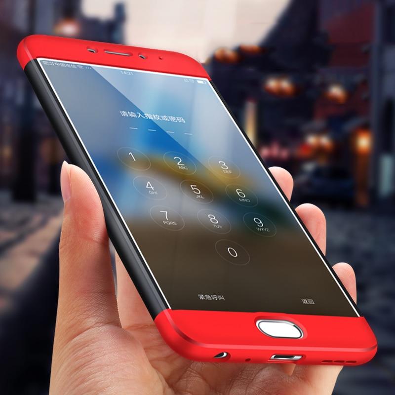 Pouzdro GKK s dvojitým dipem pro pouzdro na telefon Meizu M5 Note Plná ochrana Hard PC Matte Slim Anti-knock pro pouzdro na telefon Meizu M5 Note