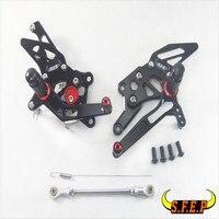 ЧПУ Регулируемые задние Наборы для ухода за кожей сзади Наборы для ухода за кожей подножки для Ducati 899/959/1199 panigale