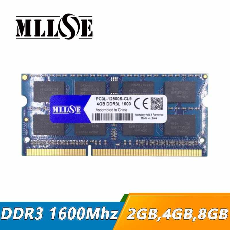 Mllse ddr3 ram 4ギガバイト2ギガバイト8ギガバイト16ギガバイト1600 mhz 1600 pc3-12800 so-dimmノートパソコン、ddr3 1600 4ギガバイト2ギガバイト8ギガバイトsdram、メモリram ddr3 1600 mhz 4ギガバイト