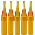 ITATOO 100PCS Disposable Tattoo Tips 11RT Sterile Assorted Yellow Plastic Nozzles Tube  For Tatoo Body Art Supply Free Shipping
