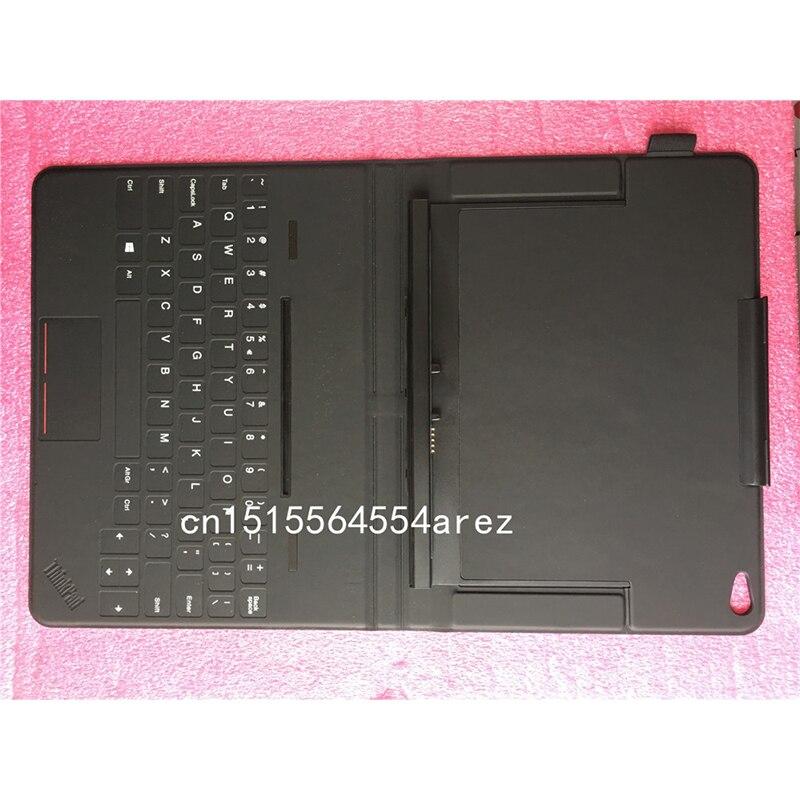 Nouveau clavier Original Lenovo ThinkPad 10 tablette tactile etimon étui en cuir US japonais français bulgare hongrois finlandais 03X9046