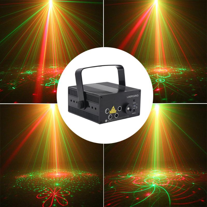 High Quality SUNY 5 Lens 80 Patterns RG Laser Stage Lighting Red Green BLUE with US Plug super small spot high quality glass lens 5mw 650nm red laser module point aiming laser