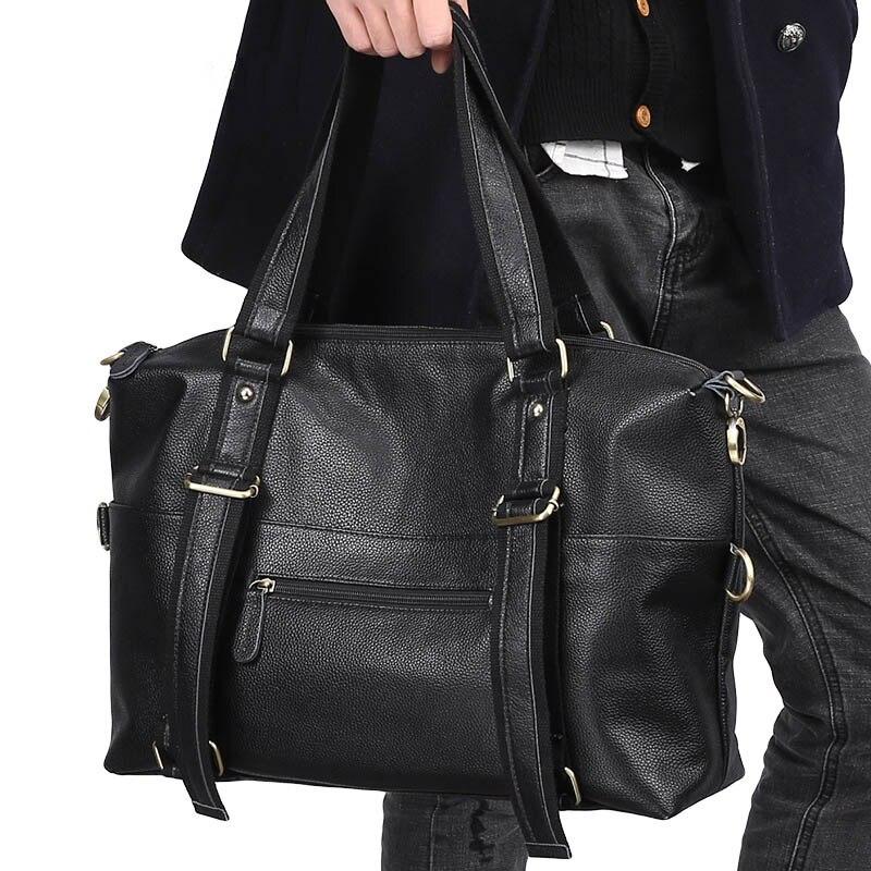 Новинка осени 2019, Новое поступление, мужские роскошные сумки мессенджеры, деловые повседневные сумки через плечо, мужские сумки через плечо... - 5