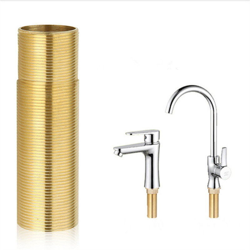 Brass stainless steel faucet fixed foot thicken lengthened fixing ...