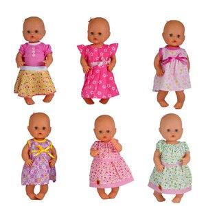 Кукольная одежда подходит 35 см кукла Nenuco Ropa Детские реалистичные аксессуары для куклы реборн платья для 13 дюймов маленькая кукла Nenuco