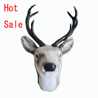 free shipping home decoration wall art deer head