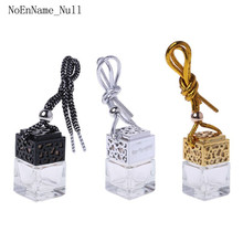 Home Car Hanging Air Freshener Diffuser Fragrance Clear Glass Empty Perfume Bottle Essential Oil Bottles Pend