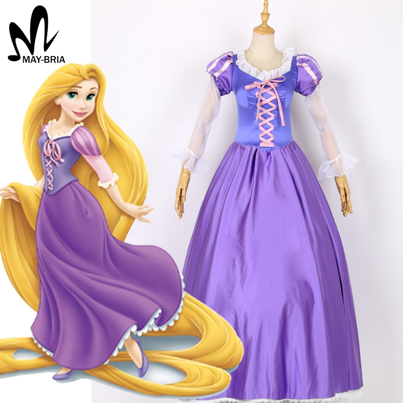 Cartoon Princess Dress Halloween Costumes For Women Adult -7182