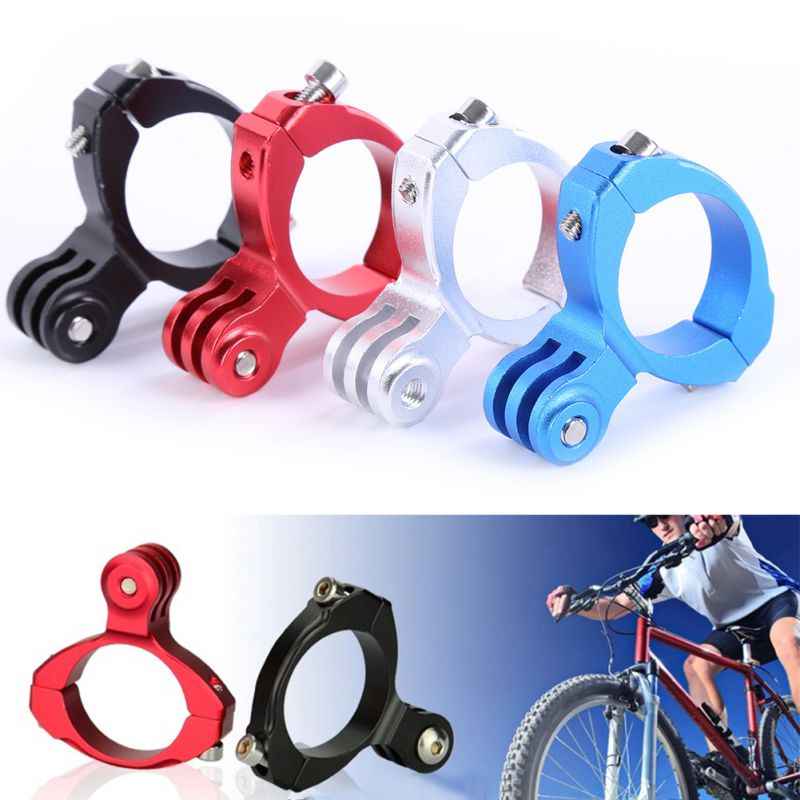 New Aluminum Bike Handlebar Motorcycle Bar Mount Adapter for GoPro Hero 1 2 3 3+ car front emergency strobe light bar 8 led dash flash warning lamp traffic light roadway safety lamp