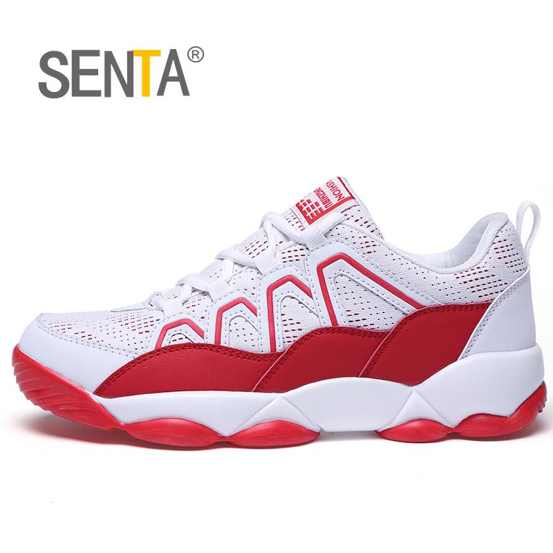 SENTA Men Running Shoes Women Breathable Outdoor Sportshoes Male Sport Sneakers Light Jogging Shoes For Adult Athletic Sneakers