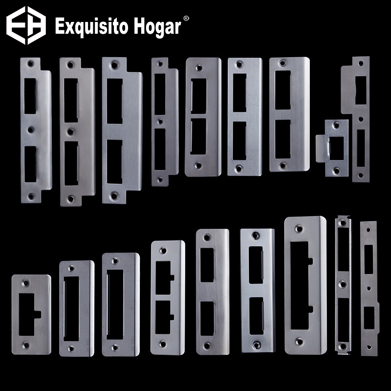 Custom-Made Door Lockbody Buckle Plate Door Guide Interior Room Hardware Fitting  Lockcase Plate Frame Baffle Block Lock