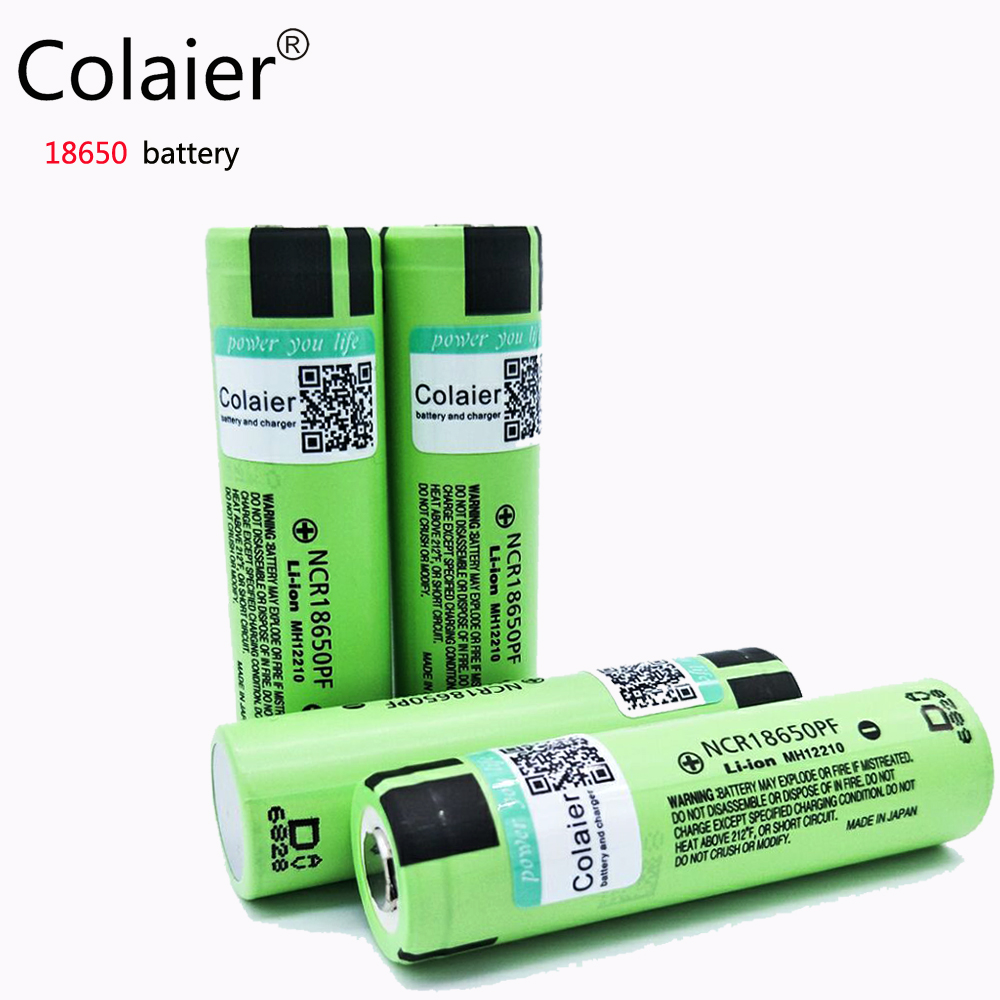 Baterias Recarregáveis para lanterna Marca : Colaier