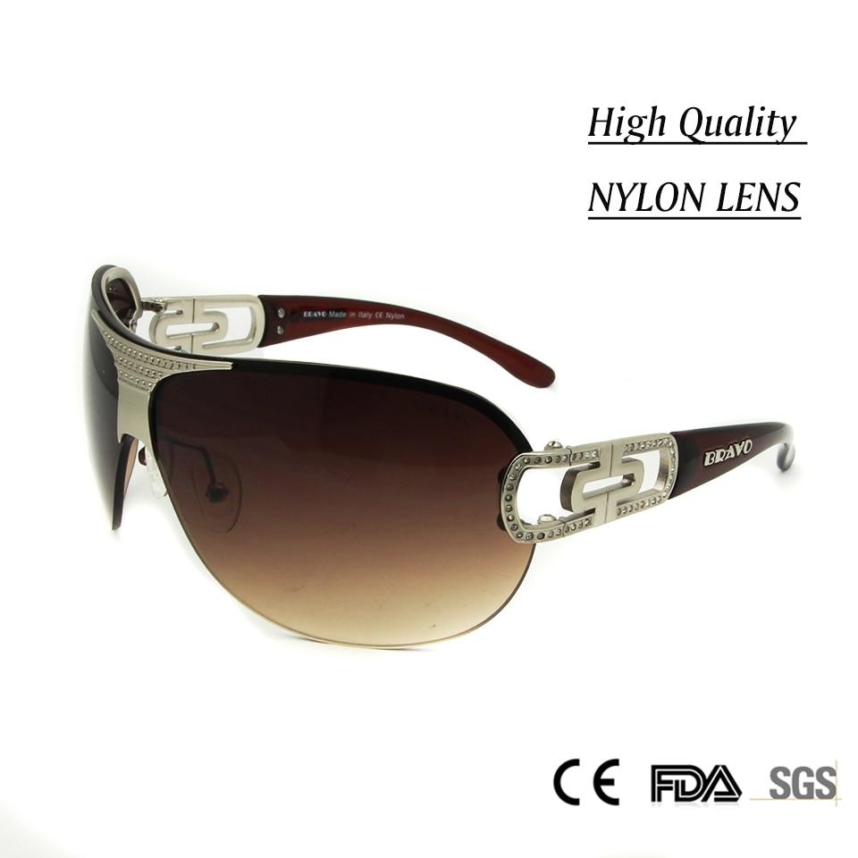 b5eebd69840 ... Vintage Nylon Lens Sunglasses Outdoor Sports Glasses Metal Diamond Sunglasses  Oculos De Sol Goggles-in Sunglasses from Women s Clothing   Accessories