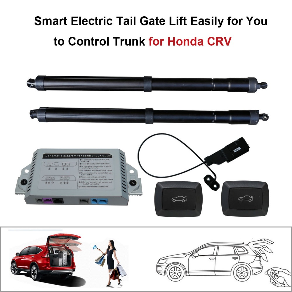 Smart Auto Electric Tail Gate Lift For Honda CRV C-RV 2013-2015 Control Set Height Avoid Pinch