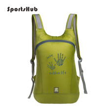 SPORTSHUB 14L Unisex Outdoor Bags Nylon Sports Backpack Softback Ultra-light Foldable Hiking Camping Cycling Backpacks SB0002(China)