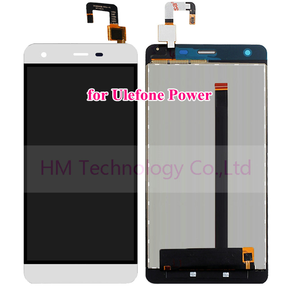White LCD TP for Ulefone Power 5 5 LCD Display Touch Screen Digitizer Panel Assembly Phone