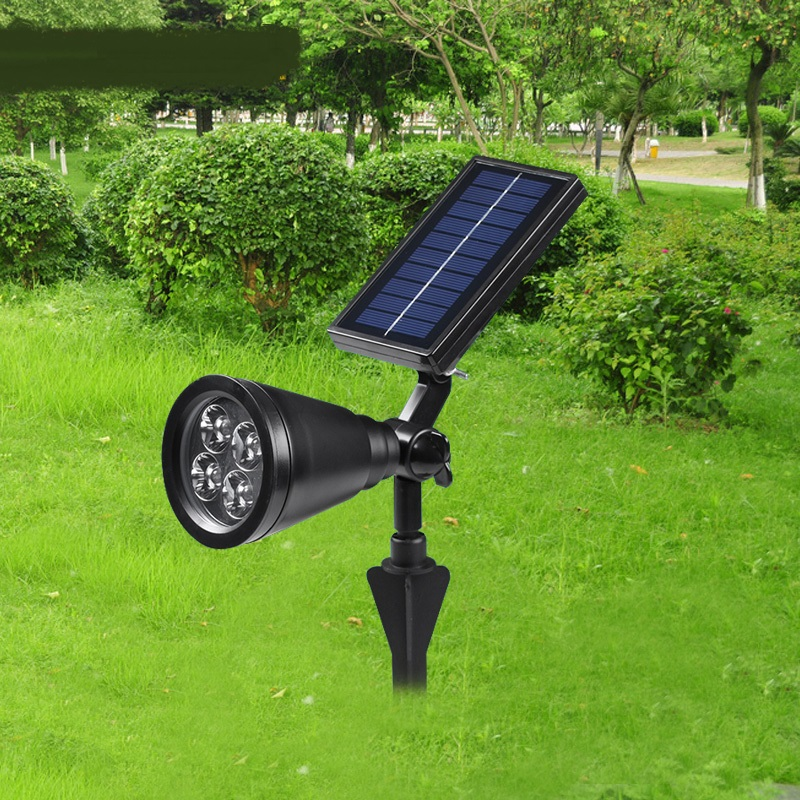 Outdoor LED lamp solar lawn plug Spotlight house tree lamp garden decorations lighting landscape LED lamps FG210