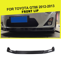 Car Styling Carbon Fiber Racing Front Lip Spoiler for Toyota GT86 2013 2016