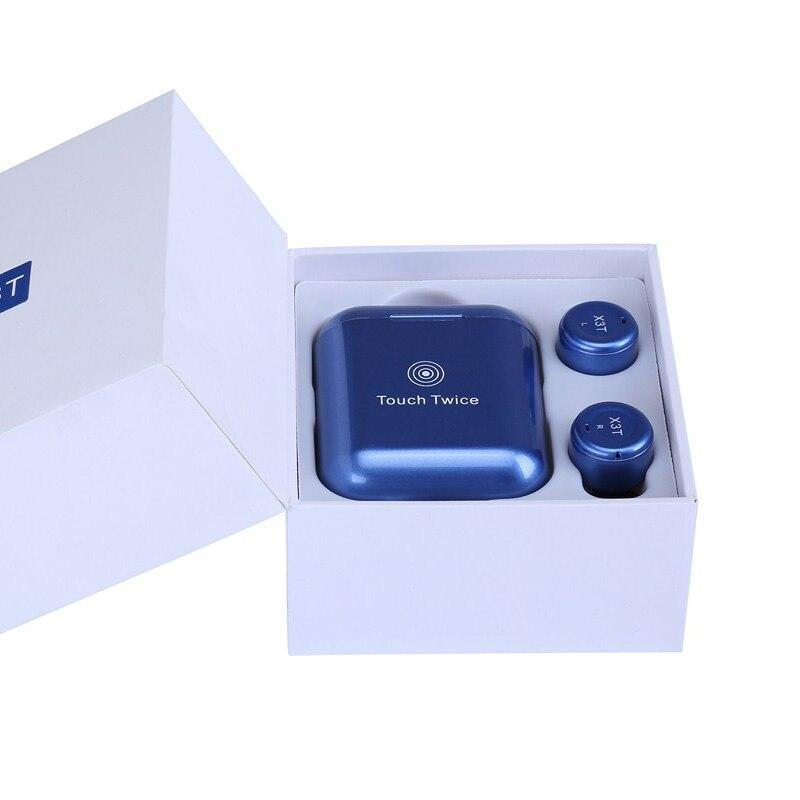 TWS X3T Wireless Earphone 3D Stereo In-ear Noise Canceling Earbuds Bluetooth Headset 85mah Sports Earphones Running For Iphone