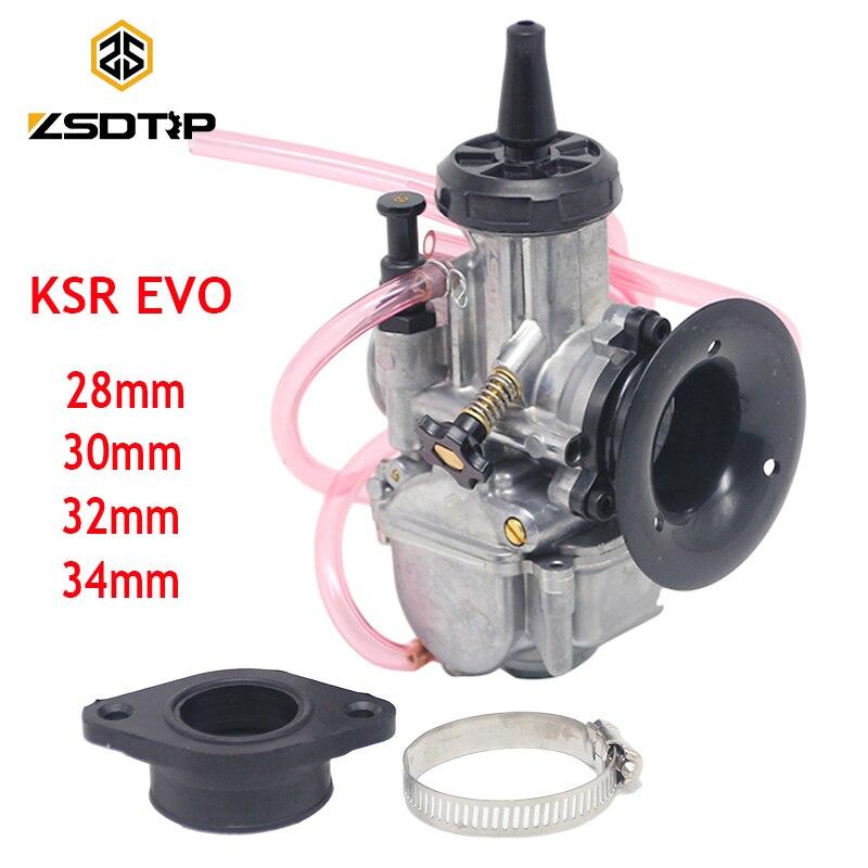 ZSDTRP KSR28 30 32 34mm PWK carburateur Carb changement universel Karts 4 T course moto Scooter pour Honda Yamaha KTM