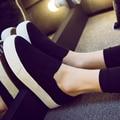 2016 новый летний дизайнер платформа валентина женщин повседневная обувь белый холст бренд женщина гуляя телевизор с дамы эспадрильи