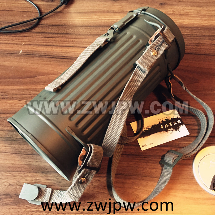 Ww2 Wwii Army Anti Gas Mask Iron Tank And Black Bag Back To Search Resultssports & Entertainment Campcookingsupplies