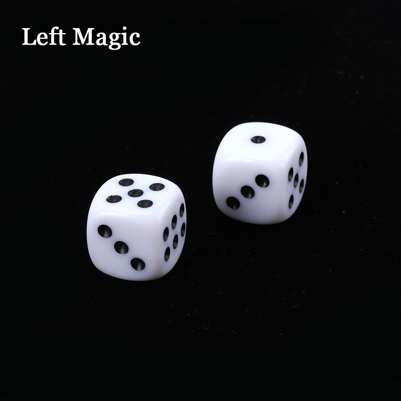 Russian Dice Deluxe Forcing Dice (Black Color Dice) - Magic Tricks Fun Magic Street Close Up Stage Accessories Illusion Mental