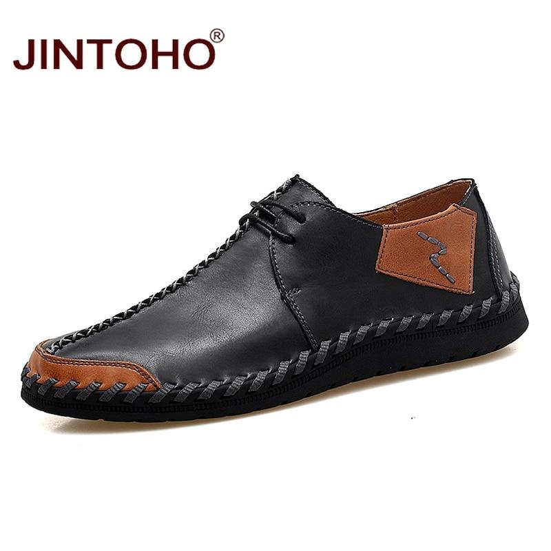 vera maschio traspirante scarpe mocassini dimensioni grandi lusso pelle in hei casual di se zong se marca hong jiu moda Jintoho di uomini fzqx0X0v