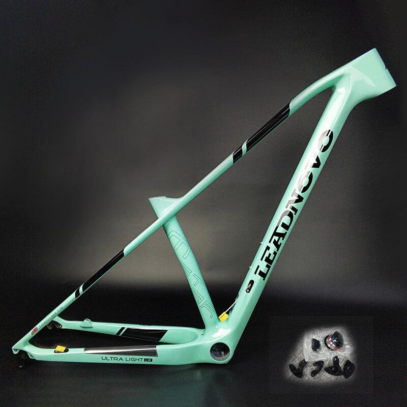 2019 MTB Bike Frame Super Light Carbon Fibre Mountain Bicycle Frame China Chinese Taiwan Oem Carbon