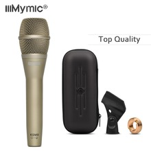 Micrófono de cable clásico K9 de alta calidad Micrófono de Karaoke profesional K9/C, dinámico, súper cardioide, micrófono Mike