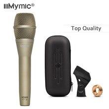 Microfone de fio clássico k9 de alta qualidade! Profissional k9/c handheld karaoke vocais super cardióide dinâmico podcast microfone mike