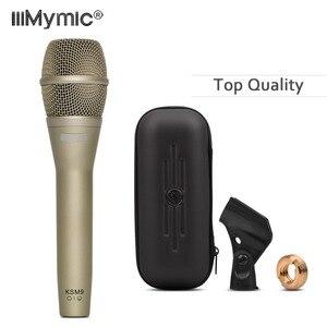 Image 1 - Najwyższej jakości klasyczny mikrofon drutowy K9!! Profesjonalny ręczny wokal Karaoke K9/C super kardioidalny dynamiczny mikrofon Podcast Mic