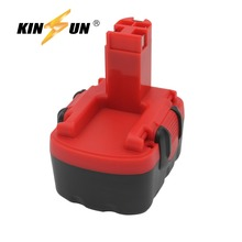 KINSUN Replacement Power Tool Battery 14.4V 3.0Ah Ni-Mh for Bosch Cordless Drill 2 607 335 263 GDR GHO PSB